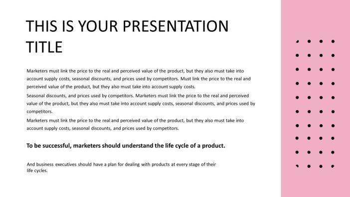 Minimalist Free Presentation Template