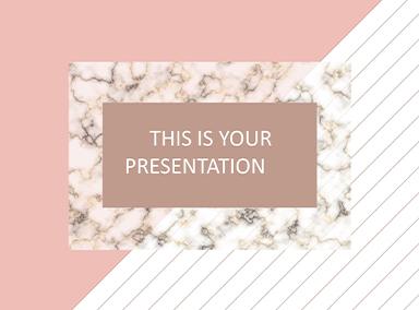 Elegant Free Presentation Templates