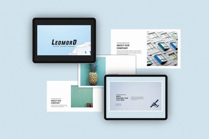 Free Minimalist PowerPoint Templates