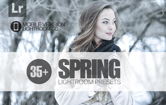 35+ Spring Lightroom Mobile bundle