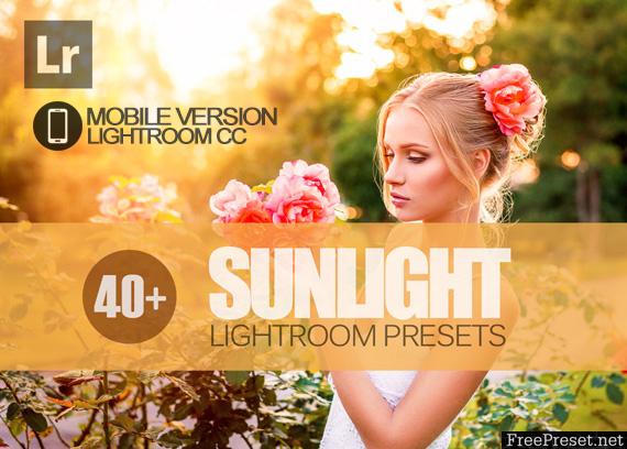 40+ Sunlight Lightroom Mobile bundle