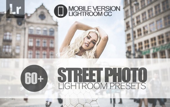 60+ Street Photo Lightroom Mobile bundle