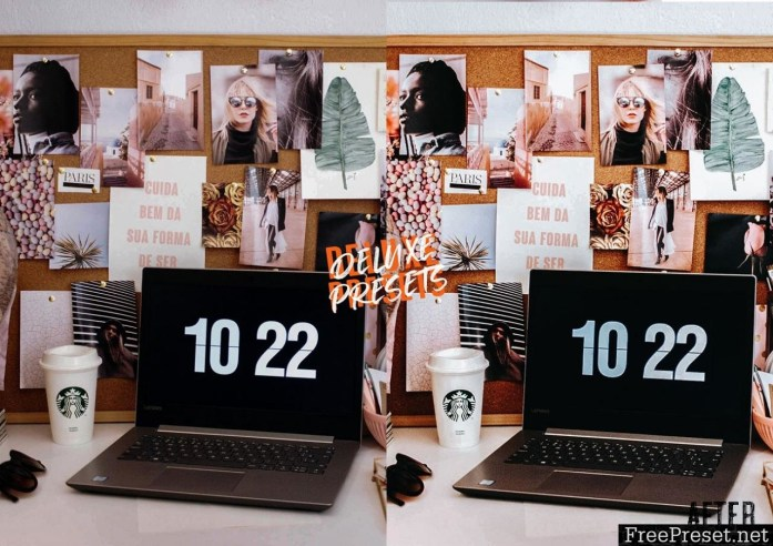 Blogger Lightroom Mobile & Lightroom Desktop Preset
