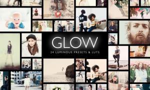 Glow 24 Luminous Presets LUTs Pro Vesion