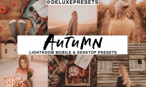 Autumn Lightroom Mobile Desk Preset 2965961