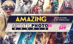 Inkydeals Amazing Artistic Photo FX Bundle