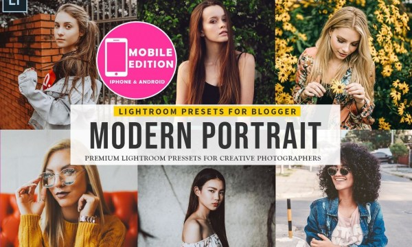 Modern portrait Lightroom Presets Collection