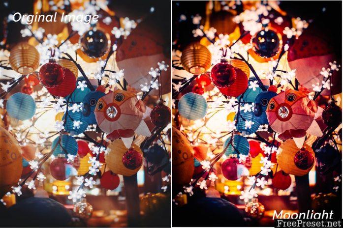 Moonlight of Christmas Lightroom Presets