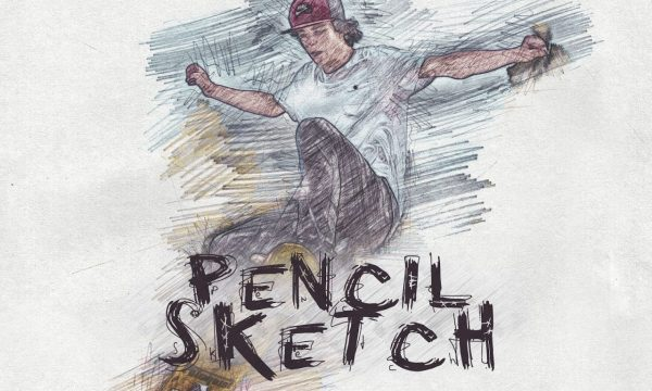 Pencil Sketch Photoshop Action 3131294