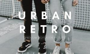 URBAN RETRO Moody Editorial Presets 3491033