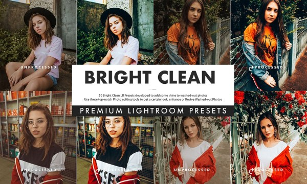 Bright Clean Lightroom Presets 3519952