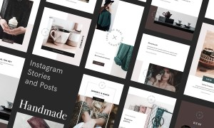 Handmade Instagram Stories and Posts 2993983