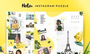 Instagram Puzzle - Hola 3034307