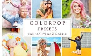 Lightroom Mobile COLORPOP PRESETS 3405174