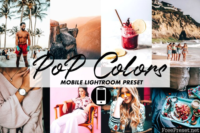 Mobile Lightroom Preset POP COLORS 3395808