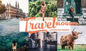 Travel Blogger Instagram LR presets 3021146