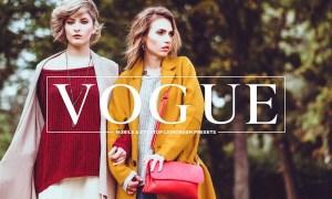Vogue Lightroom Presets Collection 3581776