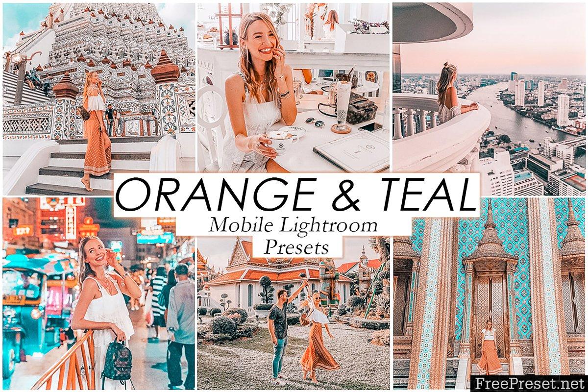 free lightroom mobile presets orange and teal