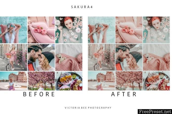 5 Mobile Lightroom presets SAKURA 3591385
