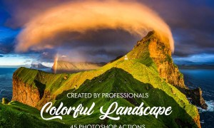 Colorful Landscape Photoshop Actions 3601683