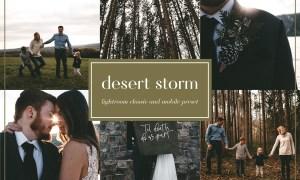 Desert storm lightroom preset 3651348