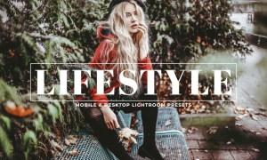 Lifestyle Mobile & Desktop Lightroom Presets 9U3FB5Z