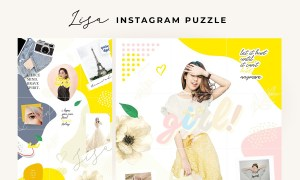 Lisa - instagram puzzle 3678254