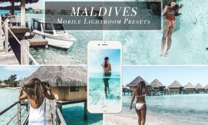 MALDIVES Mobile Lightroom Presets