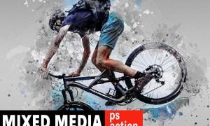 Modernity - Mixed Media Photoshop Action X6ZFVPL