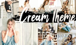 Neo Cream Theme Desktop Lightroom Preset
