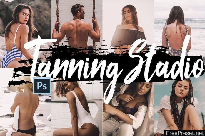Neo Tanning Studio Theme Color Grading photoshop actions