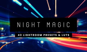 Night Magic - 43 Lightroom Presets and LUTs