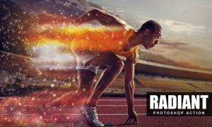 Radiant Photoshop Action QHAD94F