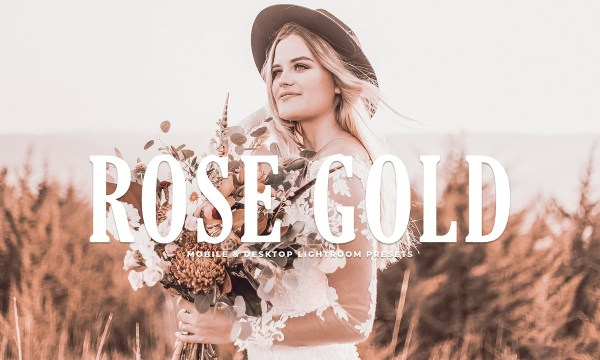 Rose Gold Lightroom Presets 3637772