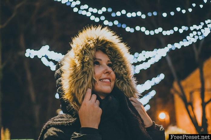 Sandrastipan - Winter Nights Lightroom Preset – Desktop + Mobile