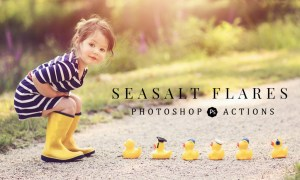 Seasalt-co - Flares Collection Photoshop Actions + Overlays