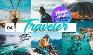 Traveler mobile Lightroom Presets GGSZY6