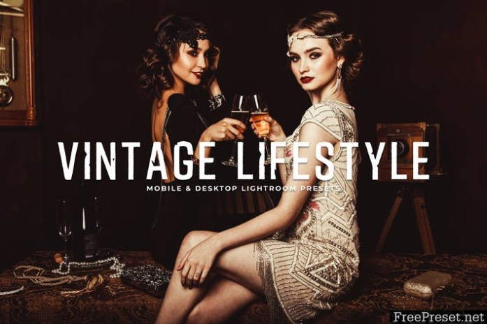 Vintage Lifestyle Mobile & Desktop Lightroom Prese JQY2D43