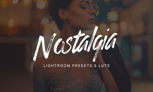 30 Nostalgia Lightroom Presets and LUTs 5MZ498