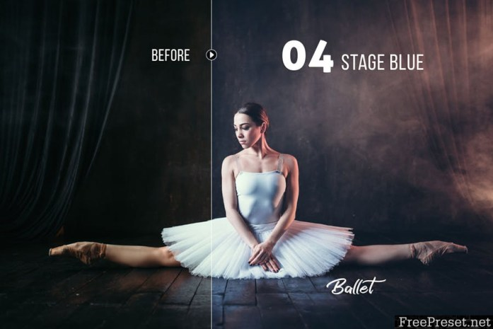 Ballet Artistic Presets for Lightroom & Photoshop