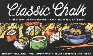 Classic Chalk - Brushes + Patterns