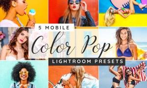 Color pop Lightroom desktop presets 3750820