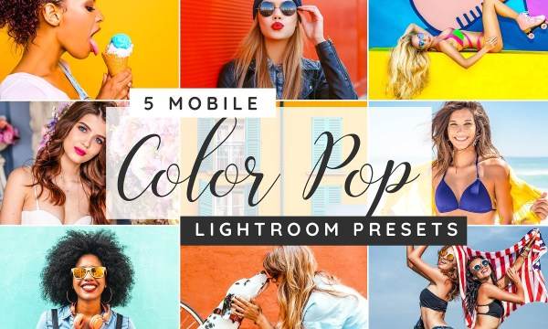 Color pop Lightroom desktop presets 3750820