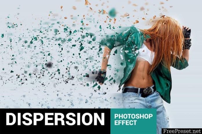 Elementum - Dispersion Photoshop Action 8867G9