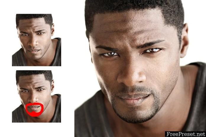 Facial Hair Photoshop Action MAVQR5