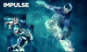 Impulse CS4+ Photoshop Action LNY8CDE