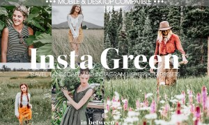 Insta Green Lightroom Mobile Presets 3707084