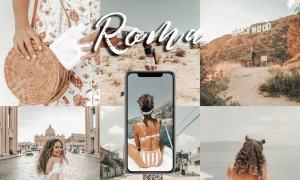 Mobile Lightroom Preset ROMA 3726654
