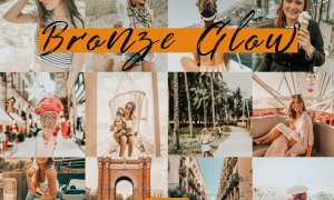 Mobile Lightroom Presets BRONZE GLOW 3755217