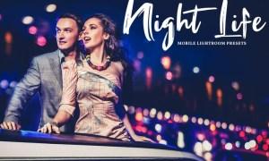 Night Life Mobile & Desktop Lightroom Presets FKGQG9